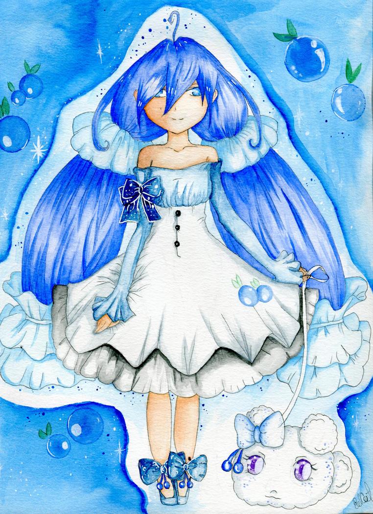 Blueberry by Zelanie