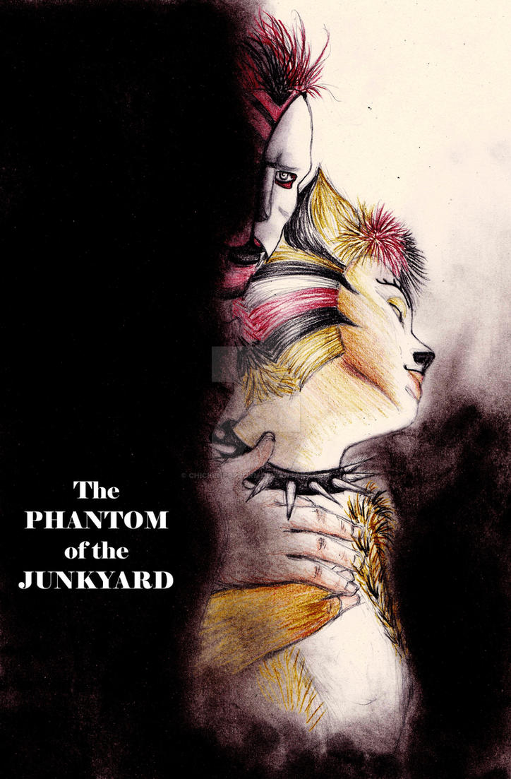 The Phantom of the Junkyard..... by chickenpopcorn