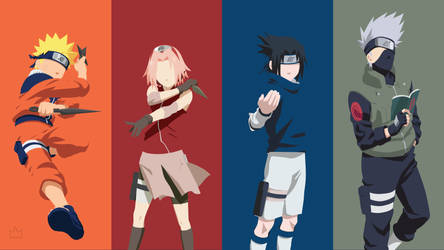 Squad 7 (Naruto) by Klikster