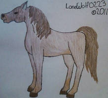 Seal Brown Horse by LoneWolf0223