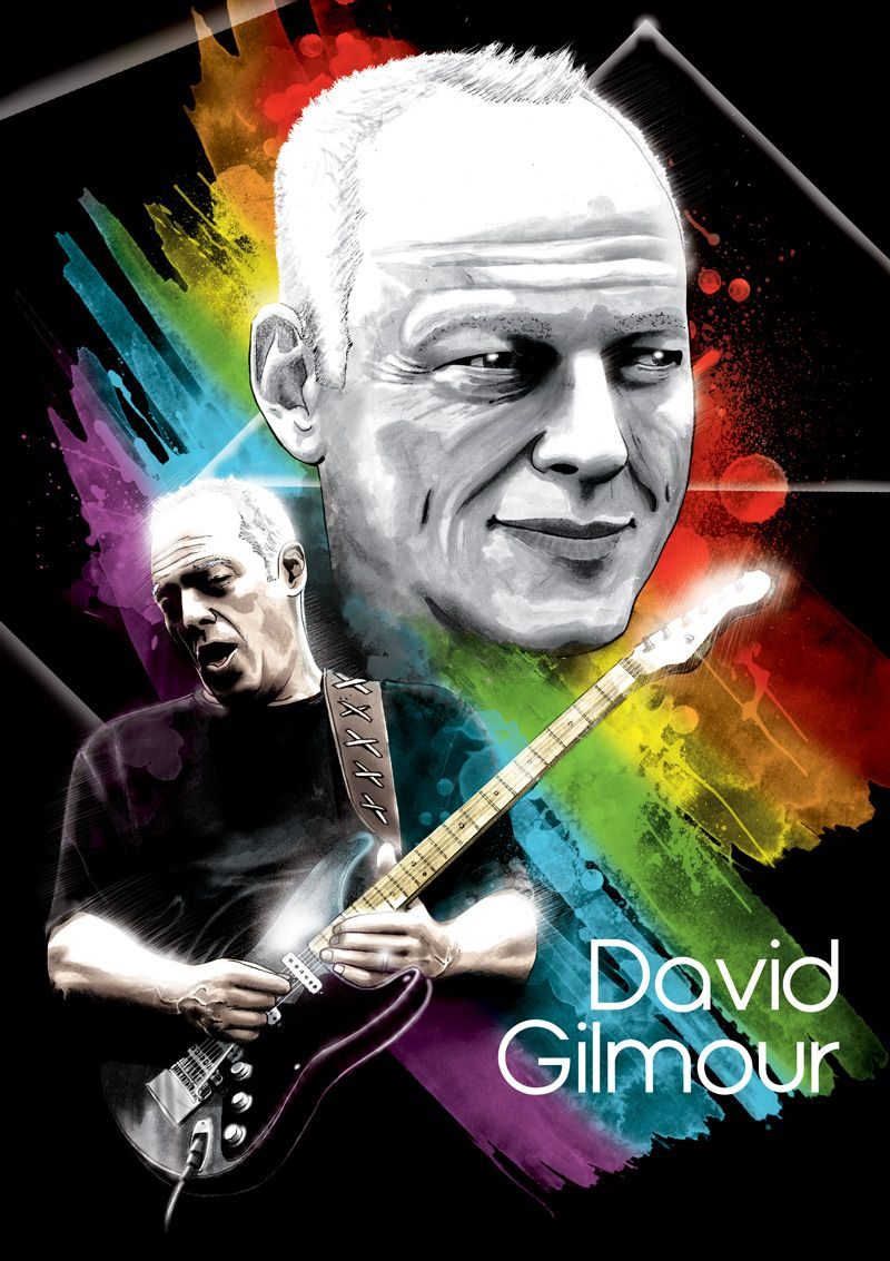 david gilmour by devcager on deviantart. Black Bedroom Furniture Sets. Home Design Ideas