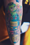 Arm Tattoo by yukan00