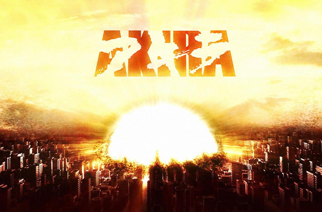 Akira explosion by jferraz
