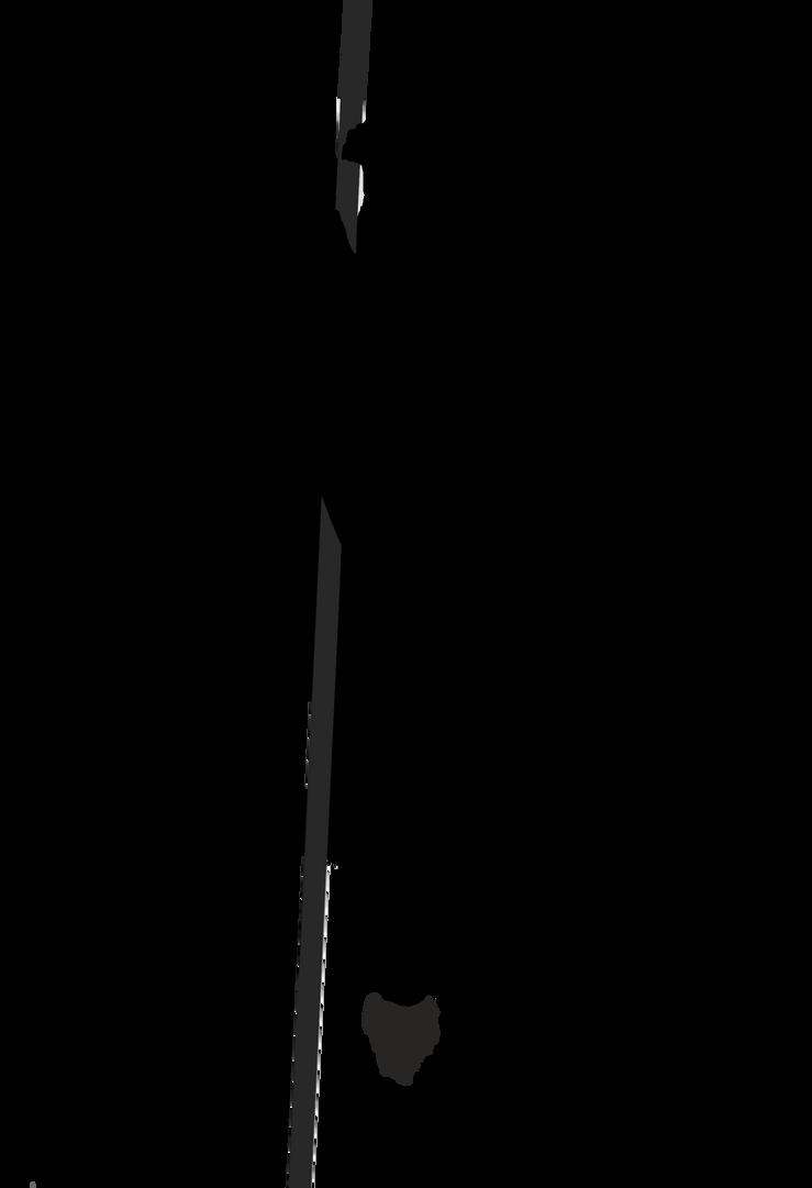 Descending Angel Silhouette by Allama66