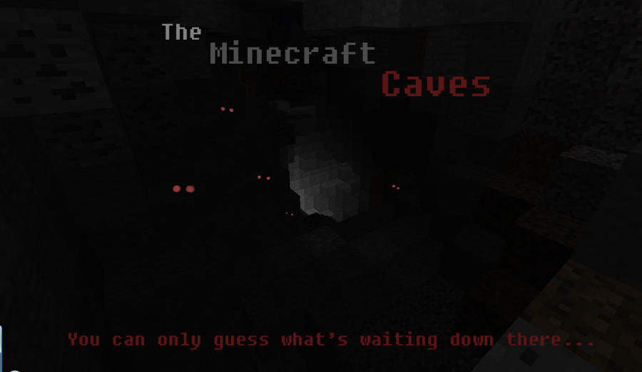 The Minecraft Caves by Roqd