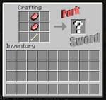 Minecraft Pork Sword