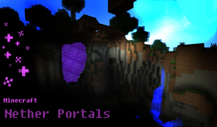 Minecraft Nether Portals By Roqd