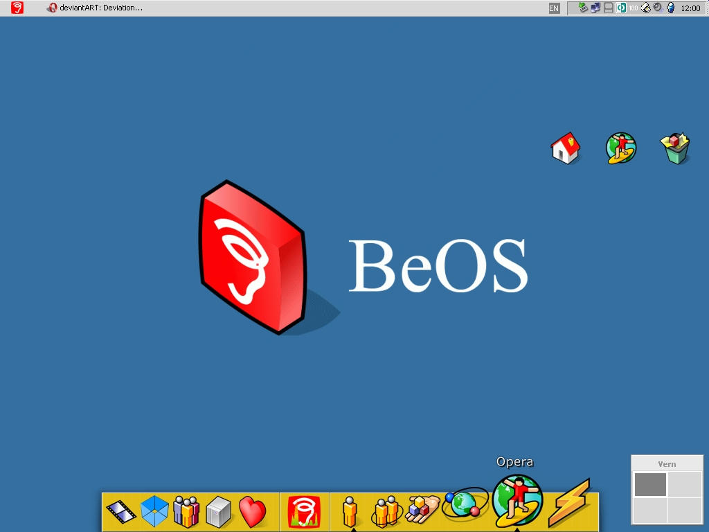 BeOS XP by jagk
