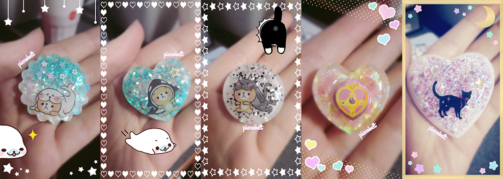 Resin Charms 2 by pianobelt0