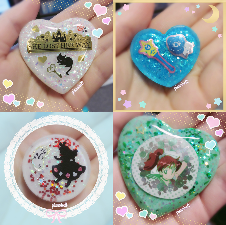Resin Charms 5 by pianobelt0