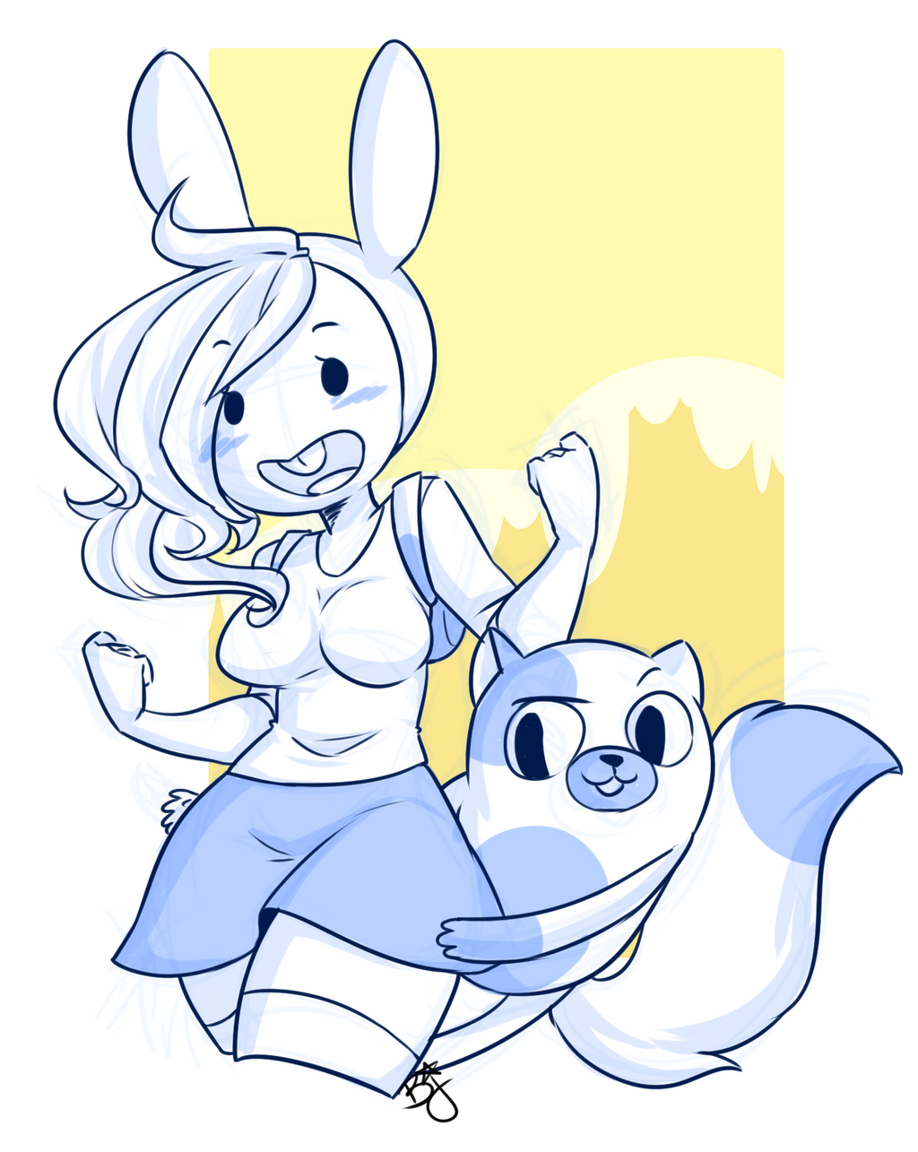 Fionna And Cake by pianobelt0