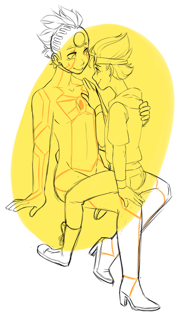 Yellow Love  by pianobelt0