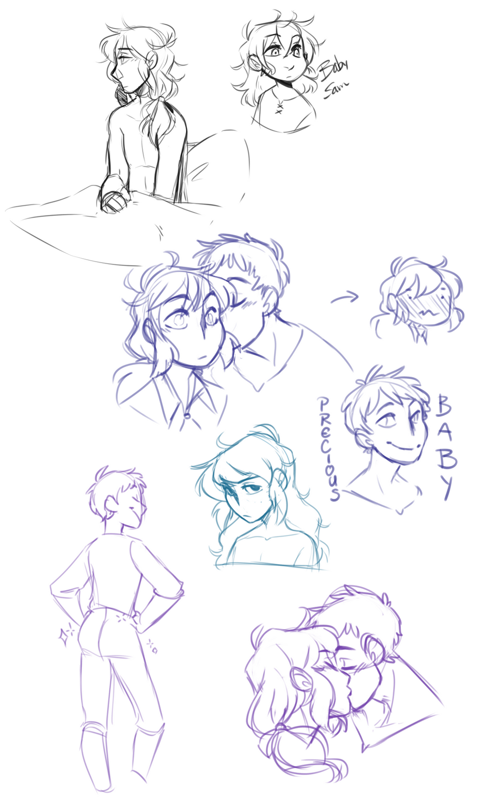 MdF: Gay Flower Doodles by pianobelt0