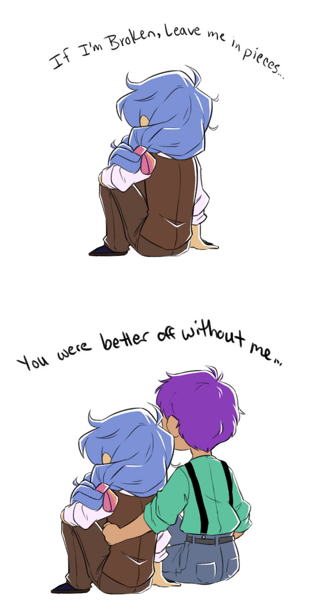 MdF: Leave Me Be by pianobelt0