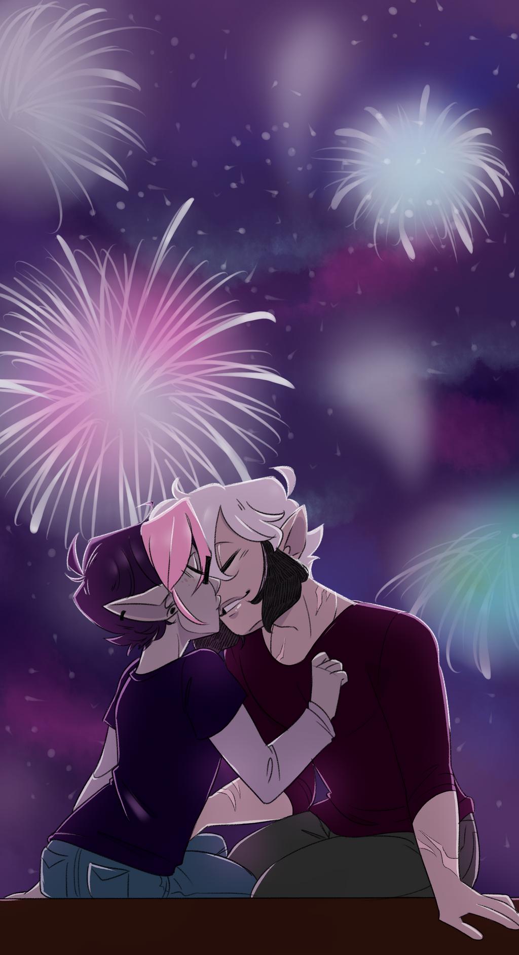 New Years Kiss by pianobelt0