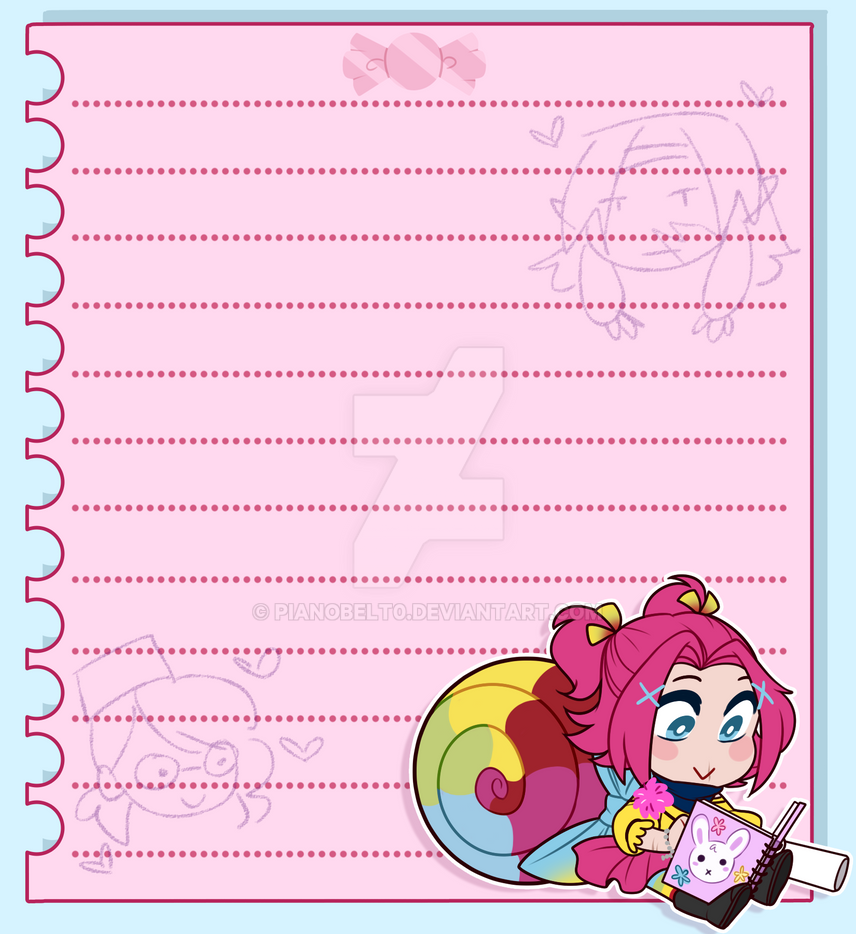 Ine Notepad Design by pianobelt0