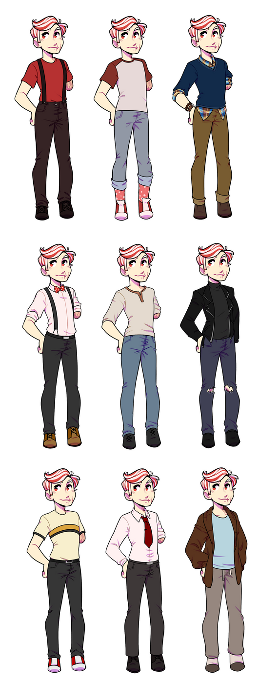 SF: Piper Outfit Chart by pianobelt0