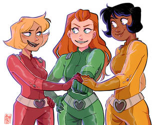 Totally Spies by pianobelt0
