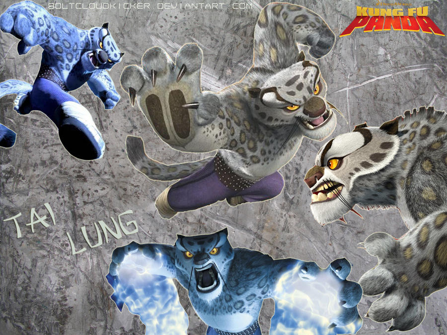 Kung fu panda tai lung wallpaper