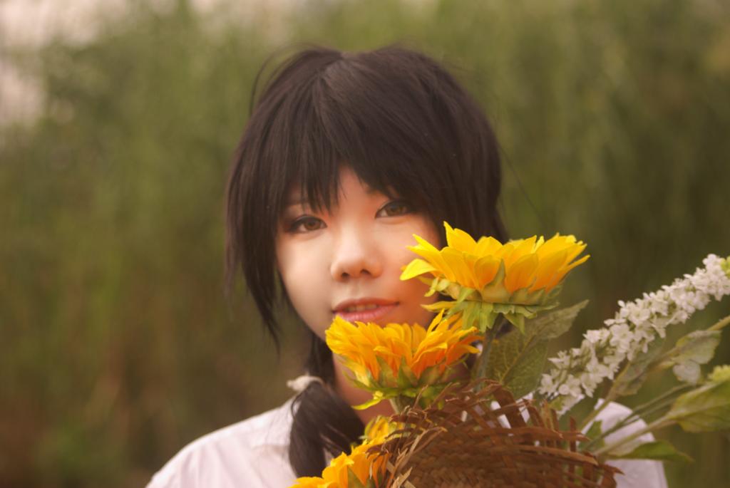 Shiro Yoshiwara on Wings cover by Kinoko87