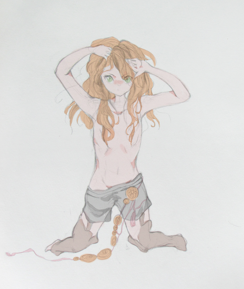 Young!Anri by Kinoko87
