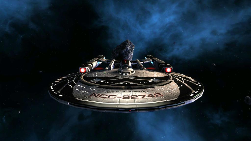 New Ship by HunterDarkWolf
