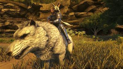 Ark wolf by HunterDarkWolf