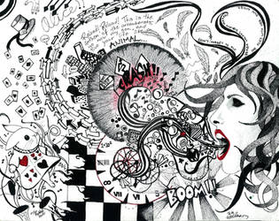 White Rabbit by Artogram