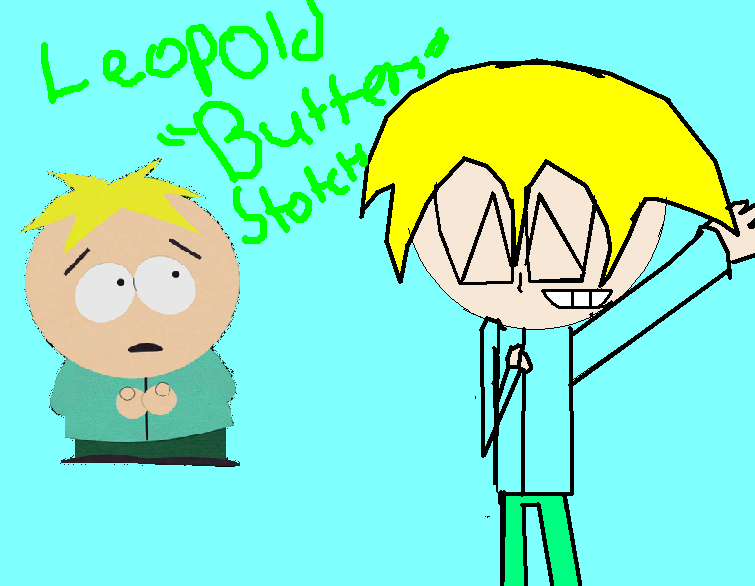 how to draw south park butters