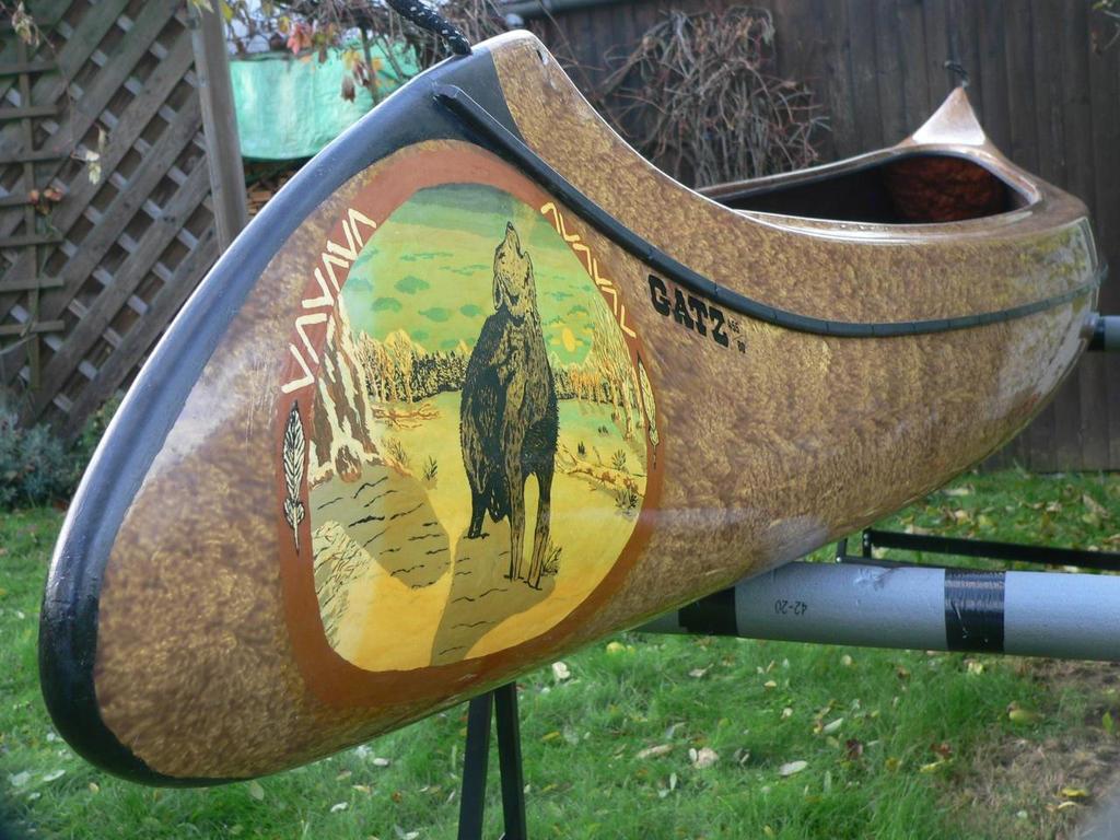 ArtWall Daniel Jean-Baptiste Algonquin Park Canada - Red Canoe ...
