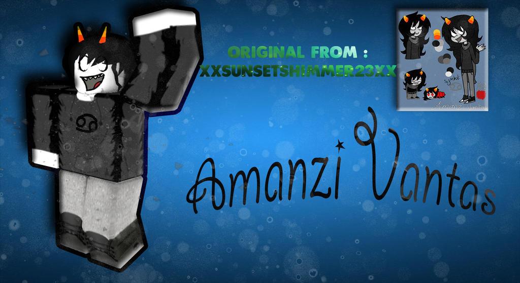 Amanzi Vantas by ShanzinSky