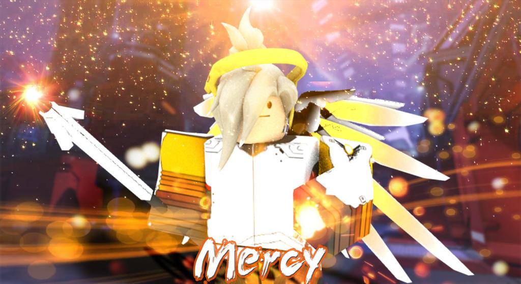 Overwatch : Mercy by ShanzinSky