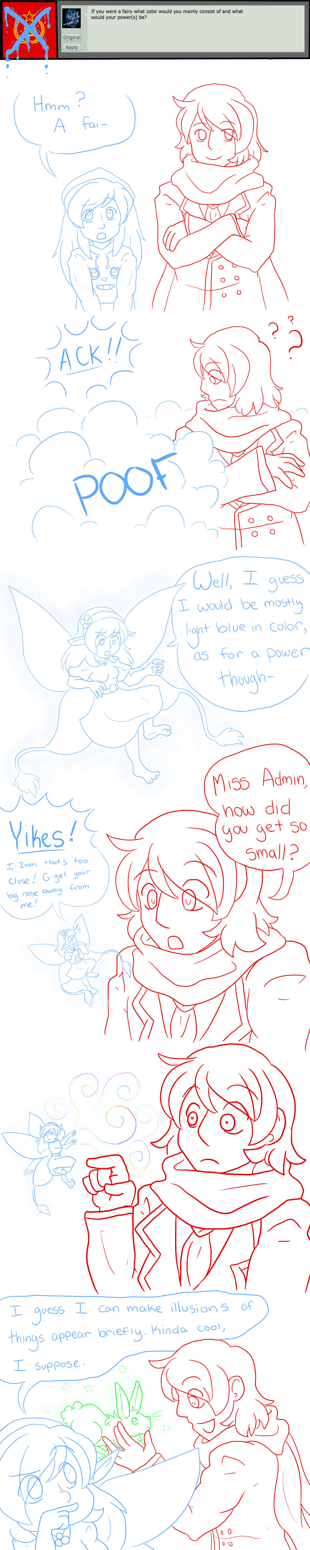 Admin Question 6 - ~Fairy of Illusions~ by Ask-Soviet-Russia