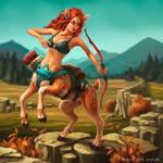 Centaur doe