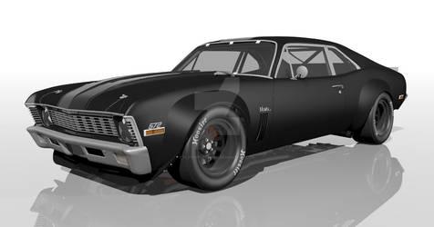 1970 Nova Trans-Am concept---