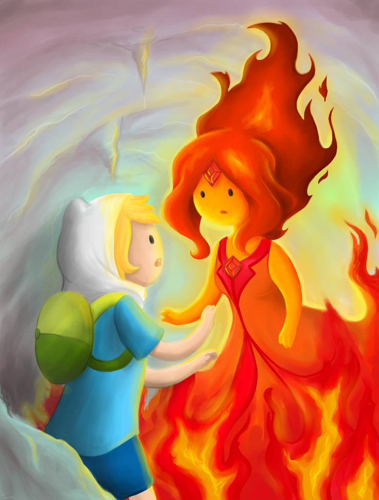 Adventure Time by SashaShvan