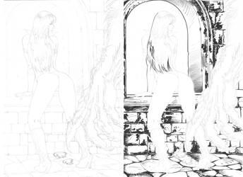 Vamp vs Wolf by Robinker