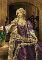 Historically accurate Disney - Rapunzel by Niobesnuppa