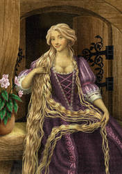 Historically accurate Disney - Rapunzel