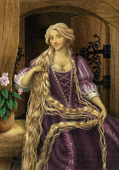 Historically accurate Disney - Rapunzel