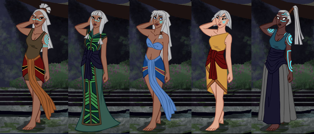 Atlantis Character Creator preview by Niobesnuppa on DeviantArt