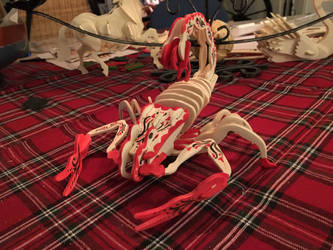 Rosepainted scorpion