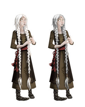 OPINIONS WANTED - Tuja's hair colour