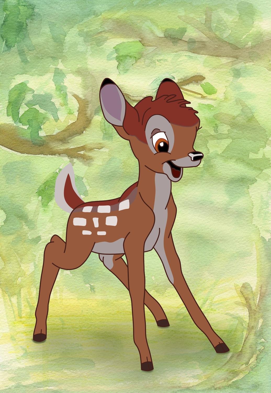 5 Bambi 1942 By Ajaiken On Deviantart