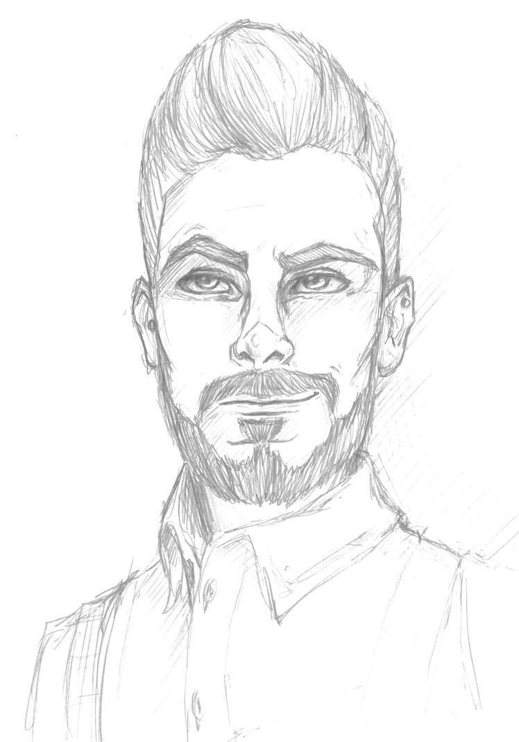 +Victor Sketch+ by HellAndroid