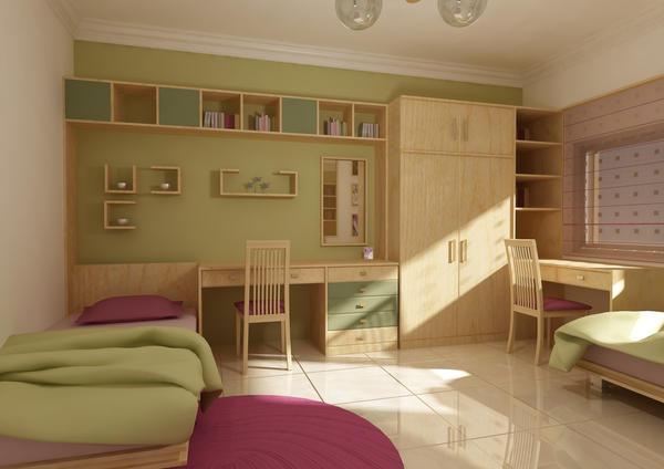 غرف نوم بناتيةةةة  Interior_Design_by_gderkeshli