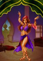 Bonds- OC contest - Esperanza belly dancing by JanPI-R