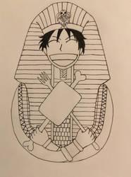 Pharaoh Luff Mon D the First by Robokapu