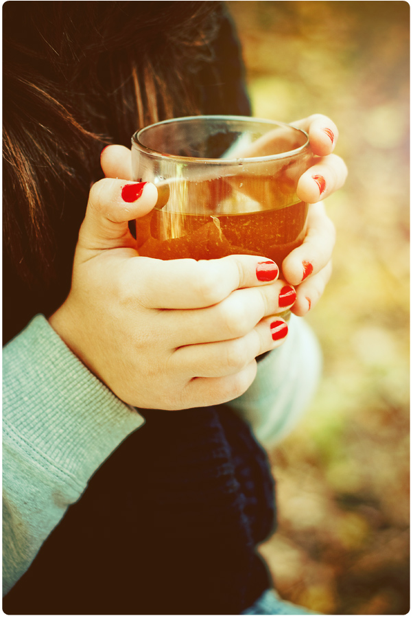 Tea Heart by Tamerlana