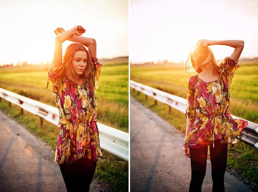 Sunshine Highway by Tamerlana